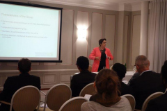 Presentation of Swiss-Africa Parliamentarian Group by Isabelle Chevalley